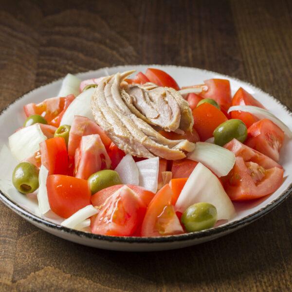 Ensalada de tomate Raf y ventresca
