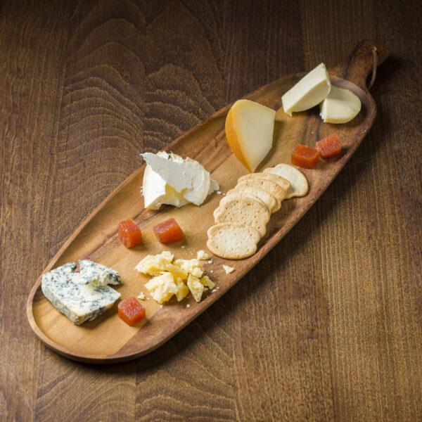 Tabla de quesos artesanos gallegos
